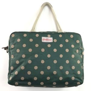 Cath Kidston London Green Polka Dot Bag